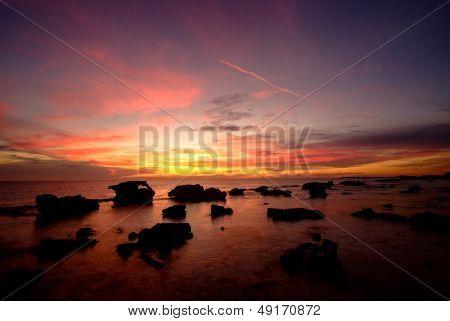 zonsondergang Bonaire