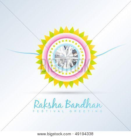 raksha bandhan festival vector background