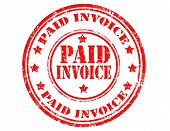 Paid Invoice-stamp