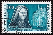 Postage Stamp France 1973 St. Teresa Of Lisieux, Carmelite Nun