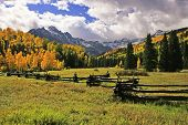 picture of mear  - Mount Sneffels Range in Colorado, United States