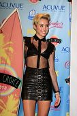 LOS ANGELES - AUG 11:  Miley Cyrus in the 2013 Teen Choice Awards Press Room at the Gibson Ampitheat