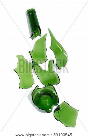 Broken Wine Bottle