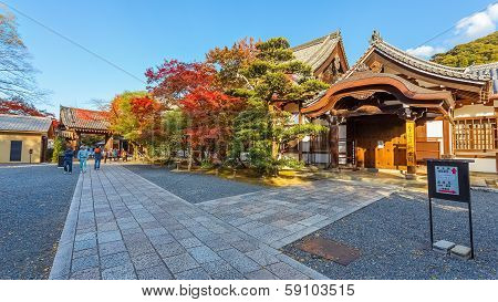 Small Temple in Chionin Complex in Kyoto