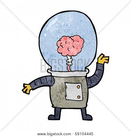 cartoon robot cyborg