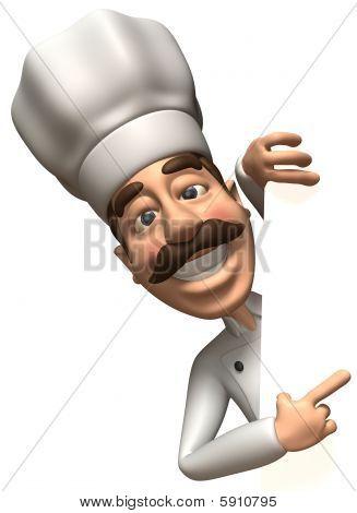 Cocinero divertido