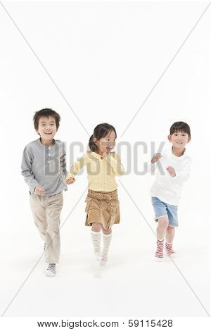 Running children
