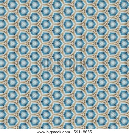Abstract green and blue patten background