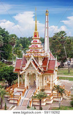 Chalong Tample, Phuket, Thailand