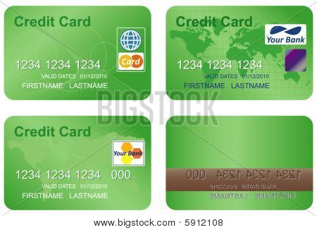 Design of a credit card