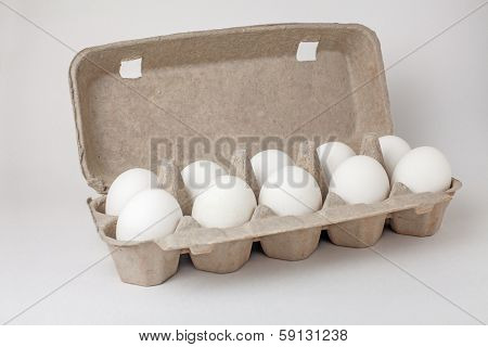 Eggs in a case