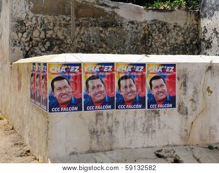 Presidential Elections In Venezuela In 2012, Election Poster Hugo Chavez