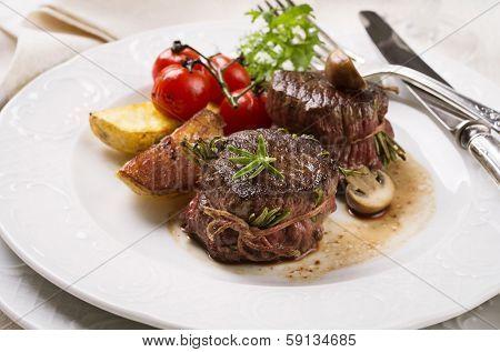 beef edallions