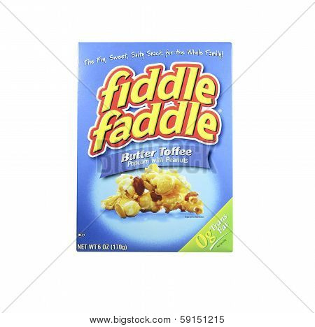 Box Of Fiddle Faddle Popcorn