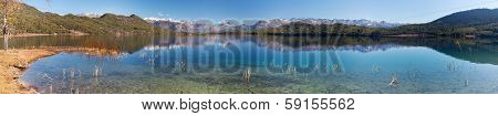 Panoramic View Of Rara Daha Or Mahendra Tal Lake - Rara Trek - West Nepal