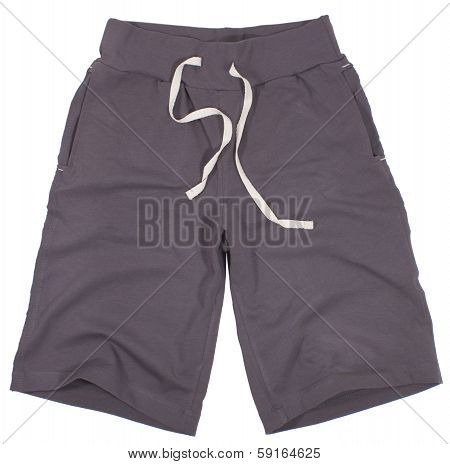 Sport shorts. Isolated on a white