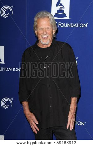 LOS ANGELES - JAN 23:  Kris Kristofferson at the