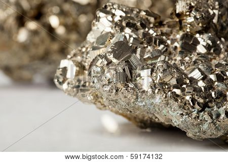 Golden Pyrite Stone