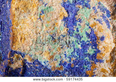 Colorful Malachite Surface