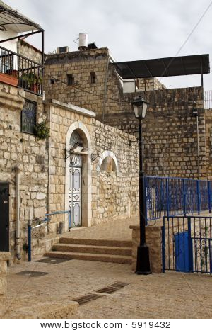 Narrow Street in old Safed