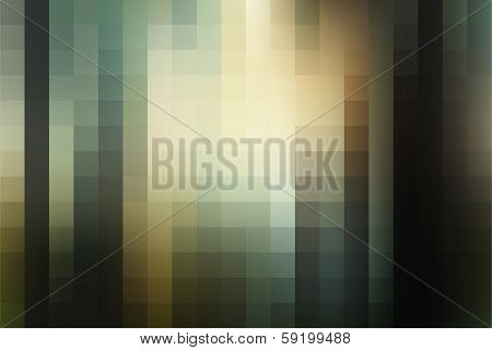 creative retro square pattern background vector