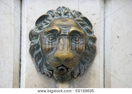 lion of venice, italy