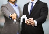 stock photo of house rent  - business - JPG