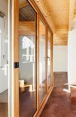 picture of chalet interior  - comfortable empty loft - JPG