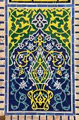 picture of samarqand  - detail from Registan  - JPG