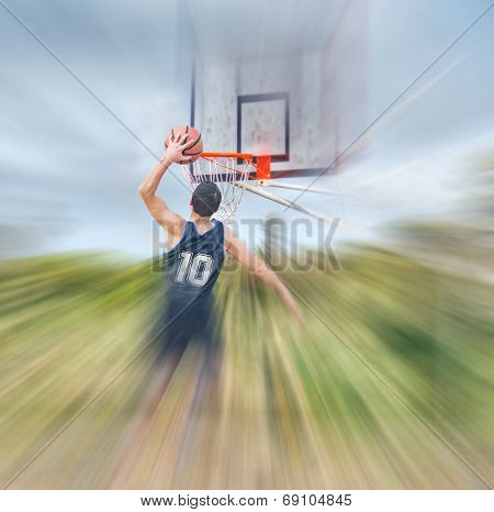 Blurred Dunk