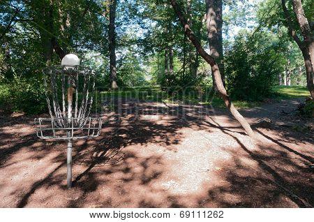 Garlough Park Disc Course And Pole Hole