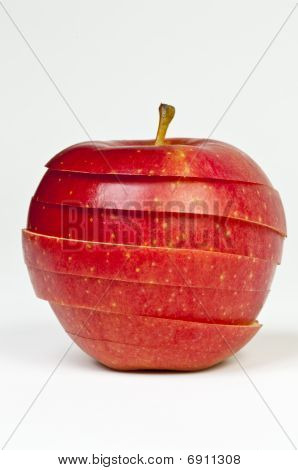 Chopped Red Apple