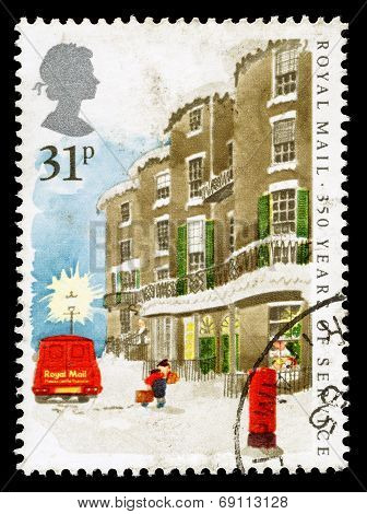 Britain Royal Mail Postal Service Postage Stamp