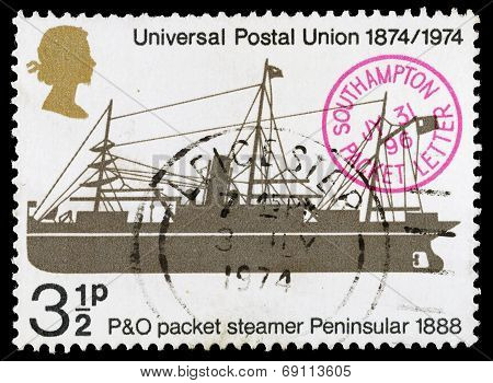 Britain Universal Postal Union Postage Stamp