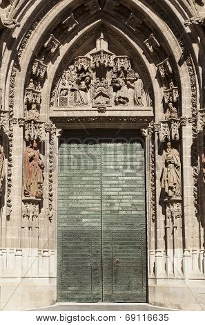 Cathedral Of Seville Door