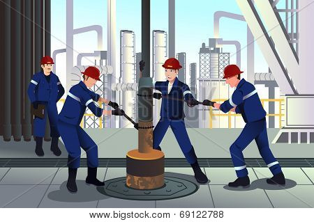 Oil And Gas Workers