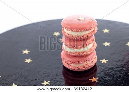 Pink Macarons