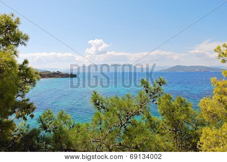 Saronic Gulf Of Aegean Sea Near Athens, Greece