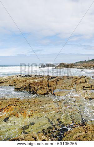Coast Of Atlantic Ocean In Costa Da Morte, Spain