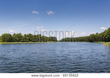 Lake Wigry National Park. Poland