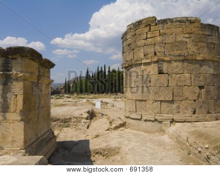 Remains Of Ancient Greek Town