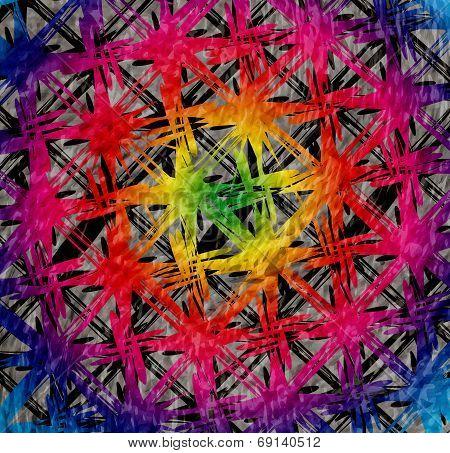 Bright grunge textured background. Abstract  illustration.
