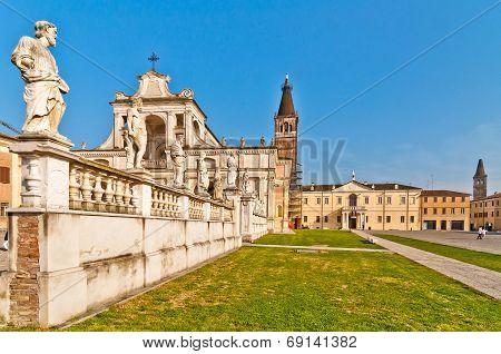 Polirone Abbey in San Benedetto Po, Italy