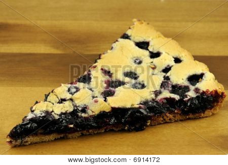 Home Cake With Black Currant