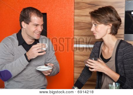 Flirting Over Coffee