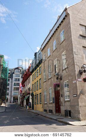 Tourist On Old Historical Street
