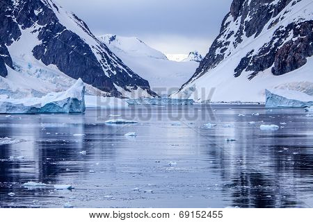 Antarctic Ice Landscape