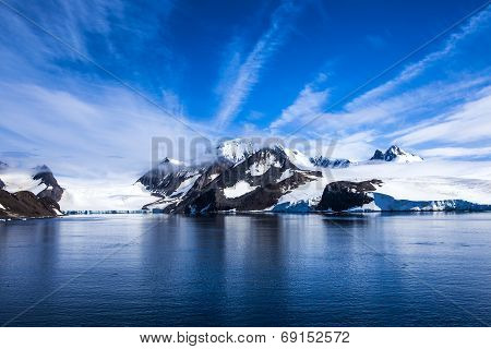 Antarctica Landsape