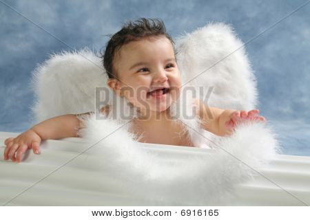 laughing angel