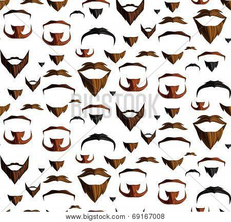 Mustache seamless